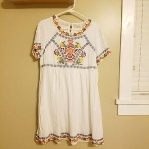 Tea n Rose embroidered dress